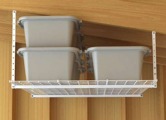 Attirant Make Use Of Your Ceiling Space! Hereu0027s An Example Of Drop Down Ceiling  Storage That Can House Just About Anything You Can Imagine, As They Are  Built To Size ...