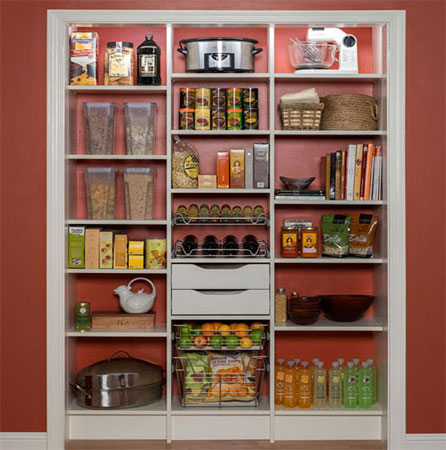 Pantries Adjustable Pantry Organization Systems That Maximize Storage