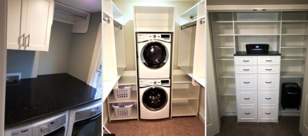 Exceptionnel Laundry Rooms And Pantry Custom Cabinets For Kansas City By KC Custom  Closets